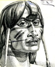 portrait-of-a-jivaro-indian-costa-rica