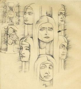 Column-Faces-women